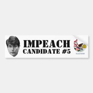 Impeach Candidate #5 Bumper Sticker