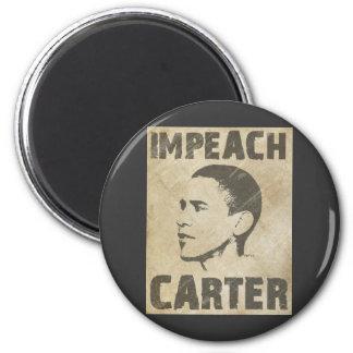 Impeach Carter 2 Inch Round Magnet