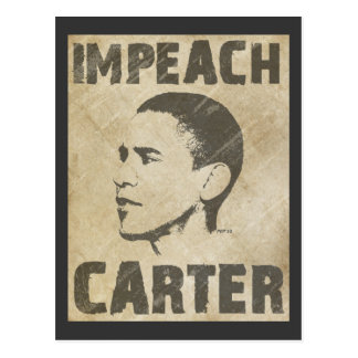 Impeach Carter Post Card
