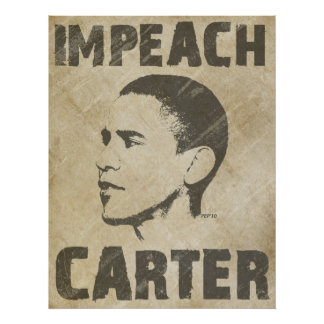 Impeach Carter Poster