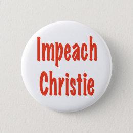 Impeach Christie Pinback Button