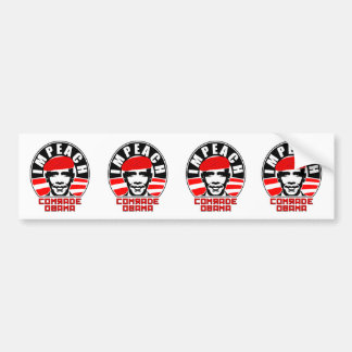 Impeach Comrade Obama Car Bumper Sticker