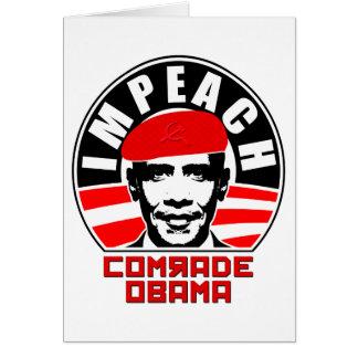 Impeach Comrade Obama Cards