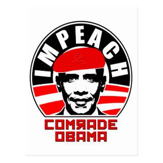 Impeach Comrade Obama Postcards