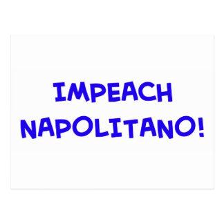 IMPEACH NAPOLITANO POSTCARD