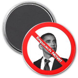 Impeach NOW! 3 Inch Round Magnet