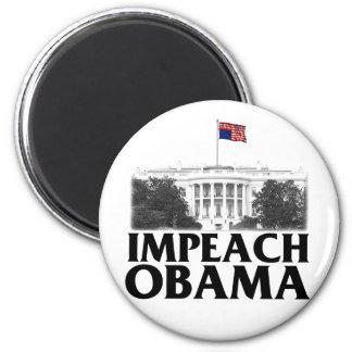 Impeach Obama 2 Inch Round Magnet