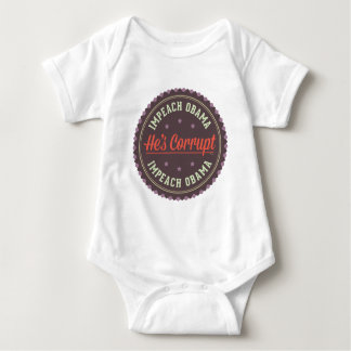 Impeach Obama Baby Bodysuit
