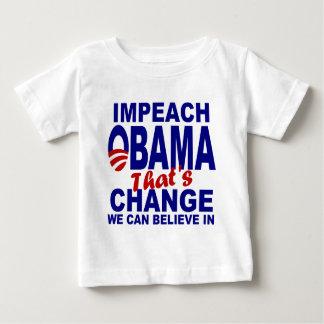 Impeach Obama Baby T-Shirt