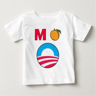 Impeach Obama barack president m peach Baby T-Shirt