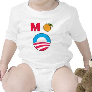 Impeach Obama barack president m peach Baby Creeper