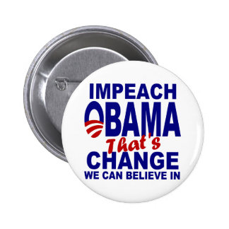 Impeach Obama Button
