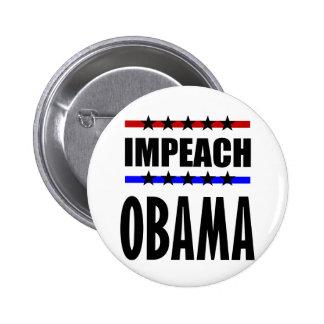 Impeach Obama Button