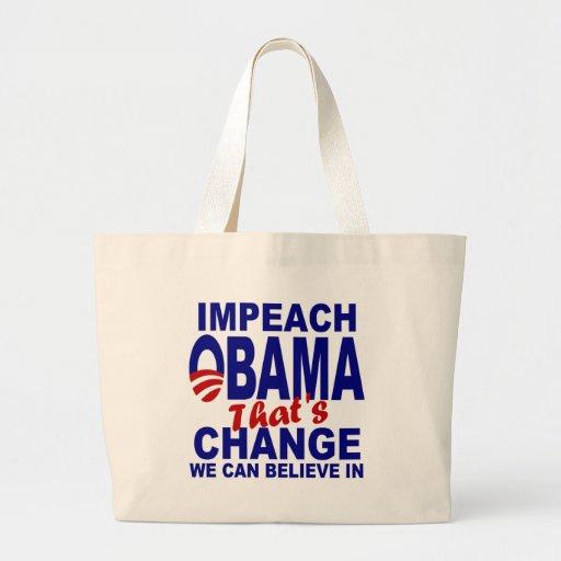 Impeach Obama Canvas Bag