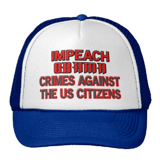 Impeach Obama Cap Trucker Hat