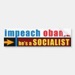 Impeach Obama Car Bumper Sticker