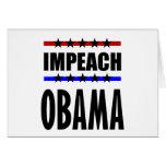 Impeach Obama Cards
