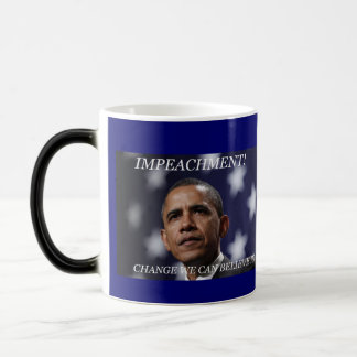 IMPEACH OBAMA MAGIC MUG