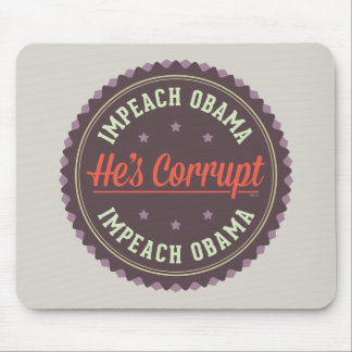 Impeach Obama Mouse Pad