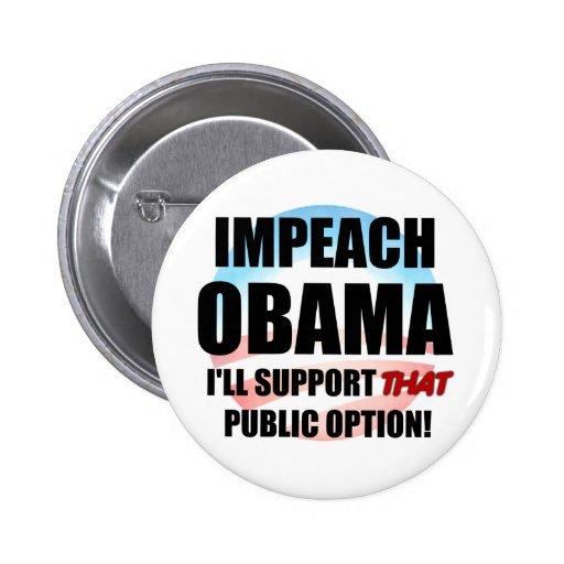 Impeach Obama Pin