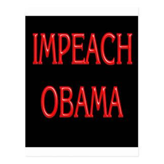 Impeach Obama Postcard