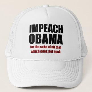 Impeach Obama Trucker Hat