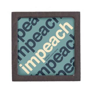 Impeach President Barack Obama Gift Box