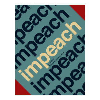 Impeach President Barack Obama Posters