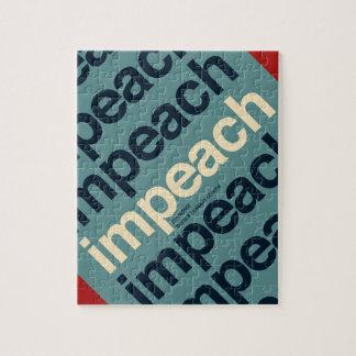 Impeach President Barack Obama Jigsaw Puzzles