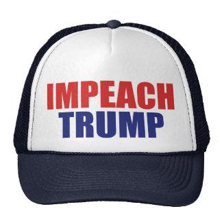 Impeach President Trump - Anti Trump Trucker Hat