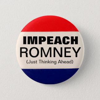 Impeach Romney Button