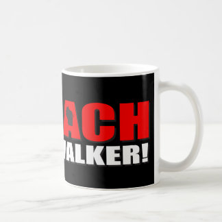 Impeach Scott Walker Classic White Coffee Mug