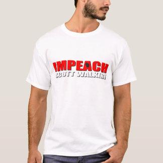 Impeach Scott Walker T-Shirt