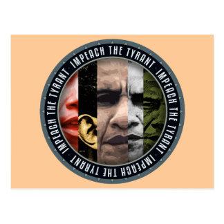 Impeach The Tyrant Postcard