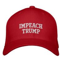 Impeach Trump Baseball Cap