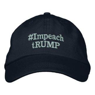 #Impeach tRUMP Embroidered Baseball Cap