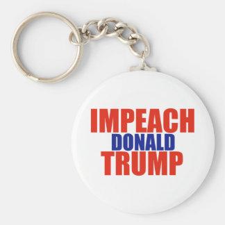 Impeach Trump Keychain