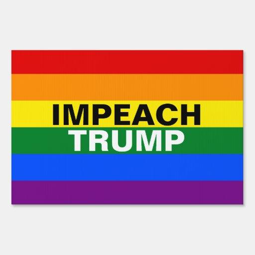 Impeach Trump Lawn Sign | Zazzle