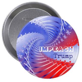 Impeach Trump Patriotic Anti-Trump Round Button