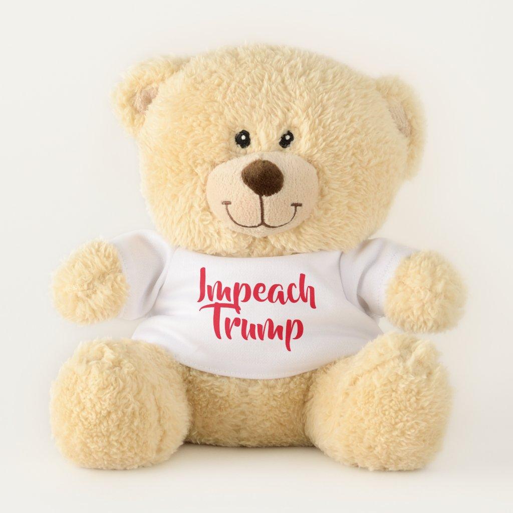 impeach trump teddy bear