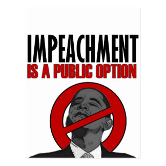 Impeachment is a Public Option Postcard