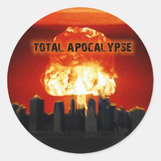 Impending Doom Classic Round Sticker