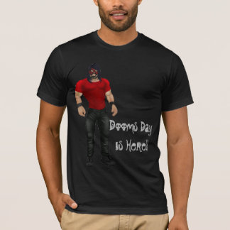 Impending Doom - Wresting Player T-shirt. T-Shirt