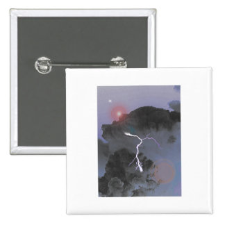 Impending Storm 2 Inch Square Button