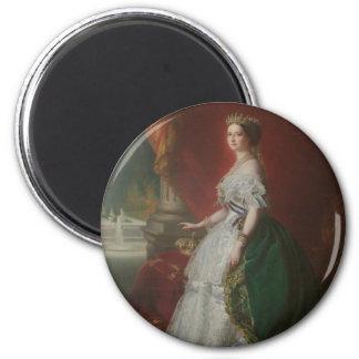 Imperatrice Eugenie De Imán Redondo 5 Cm