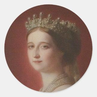 Imperatrice Eugenie De Pegatina Redonda