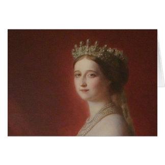 Imperatrice Eugenie De Tarjeta De Felicitación