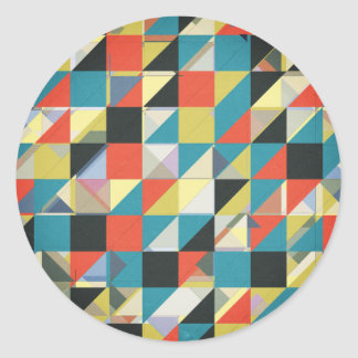 Imperfect Grid of Colors Stickers