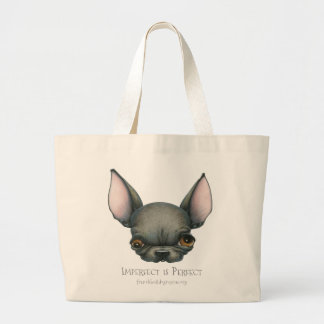 Imperfect is Perfect Large Tote Bag