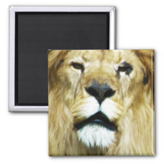 Imperfect King 2 Inch Square Magnet